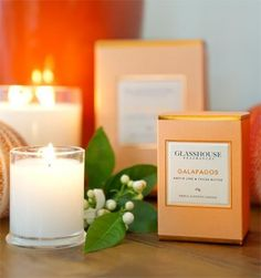 Glasshouse Candles - my favourite :)