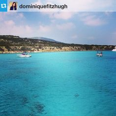 Dominique took a boat trip to the Blue Lagoon #anassa #cyprus