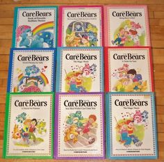 …and how to treat others with the Care Bears books: | 35 Things That Are Totally Memory Triggers For '80s Kids