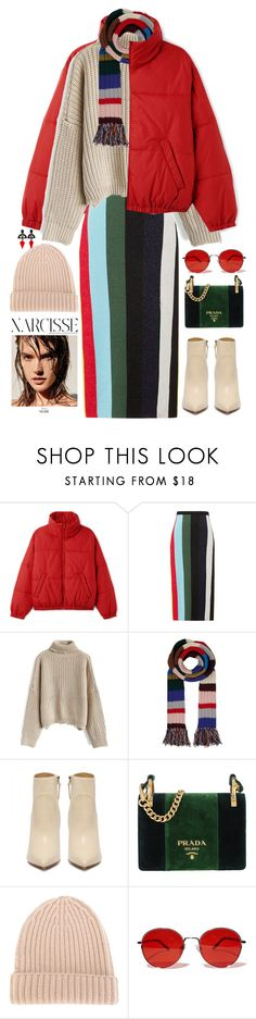 """Love"" by fcris7176 ❤ liked on Polyvore featuring Diane Von Furstenberg, Chicwish, Burberry, Prada, DANIELAPI, Fantas-Eyes, Toolally and winterscarf"