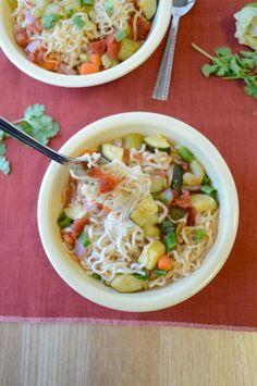 Ramen Vegetable Soup