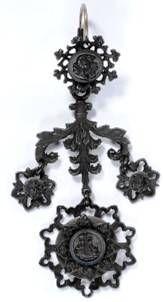 Berlin Iron earring