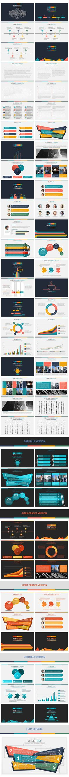 Business Pro - PowerPoint Professional Business Template. Download here: http://graphicriver.net/item/business-pro-powerpoint-professional-business-template/16514514?ref=ksioks