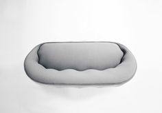 markus johansson curves comfy coquille sofa into shell form
