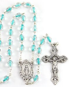 Beautiful turquoise rosary