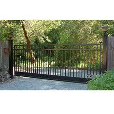 DuraGate Classic Flat Top 5' Driveway Entry Gate
