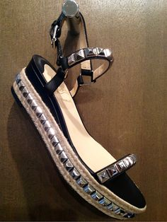 Studded espadrille from Christian Louboutin. By far one of the favorite sandals so far arriving for spring.