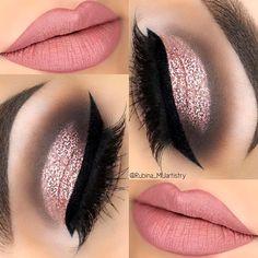 Eye Makeup Tips – How To Apply Eyeliner – Makeup Design Ideas Cute Makeup, Glam Makeup, Gorgeous Makeup, Pretty Makeup, Makeup Inspo, Bridal Makeup, Makeup Inspiration, Hair Makeup, Makeup Ideas