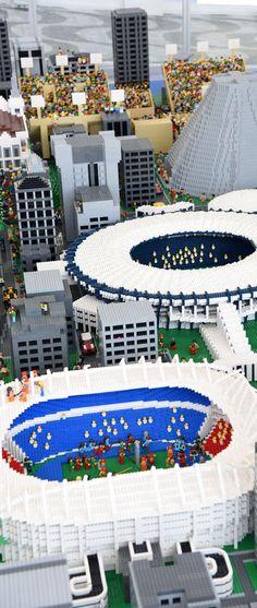 #BoulevardOlimpico #OrlaConde #MaqueteRio - Photo: #AlexandreMacieira | #Rio2016 #RiodeJaneiro #RJ #Brasil #Lego #BR