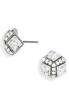 ice stud earrings / baublebar