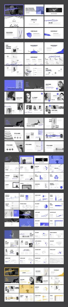Point Presentation Template + Free PPT on Behance