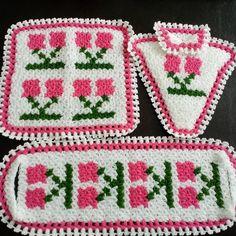 Üçlü lif Takımı #baby #knit #knitting #handmade #örgü