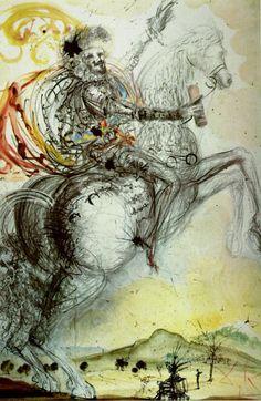 Salvador Dalí. El Duque D'Olivares. 1965