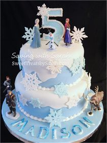 Saving with Sarah: Frozen Cake with Snowflakes (and a Summer one too)