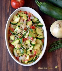 Bless This Mess: Zucchini Side Dish