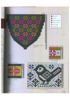 Selbustrikk + S.Anderson-Freed Colorwork creazioni: 30 modelli per Knit splendidi cappelli, muffole e guanti + svedese Handknits Colorwork_creations1_26