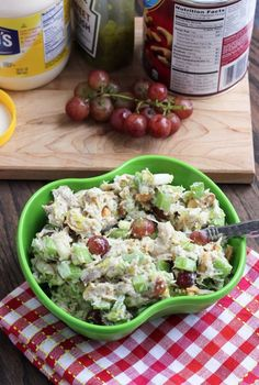 Cashew Chicken Salad - I will use almonds instead of cashews because I am allergic to cashews.