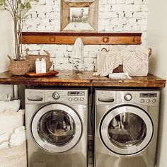 #laundryroom #greatroom #openconcept #ceilingbeams #neutraldecorstyles #diningroominspo #diningroomtable #fireplacedesign #fireplacedecor #familyroom #familyroomdecor #modernfarmhousestyle #brickfireplace #shelfstyling neutral decor, farmhouse decor, kitchen decor, fireplace inspiration, fireplace reno, home reno, home decor, fall decor, fall home decor, neutral style, fall style, fall 2020 home, better homes and gardens, BHG homes, southern living mag, Farmhouse Style Decorating, Farmhouse Decor, Budget Decorating, Rustic Decor, Rustic Laundry Rooms, Laundry Room Design, Laundry Room Inspiration, Kitchen Inspiration, Sliding Bathroom Doors