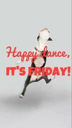 Friday at last!