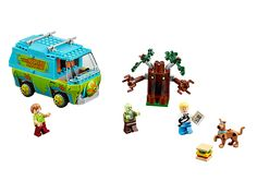 Solve the Zombie mystery with The Mystery Machine!