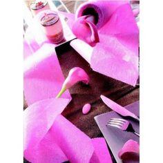 Ruban Intissé Uni Couleur 10 M de décoration - Bobine de Ruban Intissé large 10 cm en 19 couleurs festives, au choix pour déco de table et déco festive.