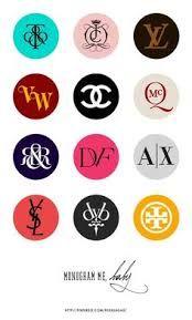 Image result for fashion designer logos and names