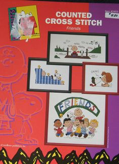 Peanuts and Friends Cross Stitch Pattern by TheHowlingHag on Etsy, $14.95