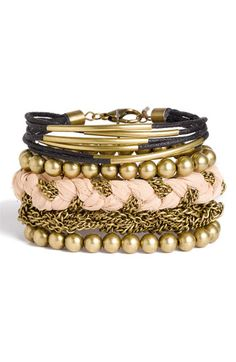 Stephan & Co. Mixed Media Bracelet available at Nordstrom