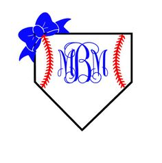Baseball monogram vinyl decal, softball monogram vinyl decal by MaesGirlyThings on Etsy Yeti Stickers, Yeti Decals, Vinyl Decals, Vinyl Monogram, Monogram Frame, Vinyl Paper, Cricut Vinyl, Cute Shirt Designs, Silhouette Cameo Projects