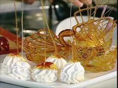 receta de caramelos postres dulces LAGRIMAS DE CHOCOLATE Y CANASTICAS DE CARAMELO - YouTube