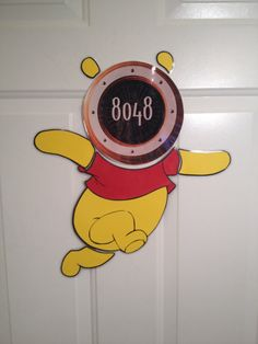 Winnie the Pooh Body Part Stateroom Door Magnets for Disney Cruise $17.00 FE GIFT