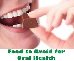 Eat Right and Don't Forget Your Oral Health! Here's a list of some foods to avoid to keep your teeth healthy!    http://couturesmiles.com/