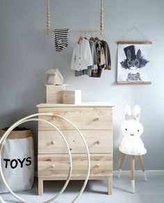 Beautiful Clothes Hangers for Babies (that You can Make) - Petit & Small