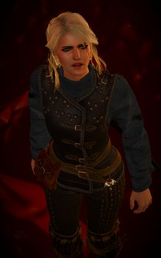 Ciri Witcher, The Witcher 3, Witcher 3 Characters, The Last Wish, Resident Evil, Heart, Gold, Ideas, Games