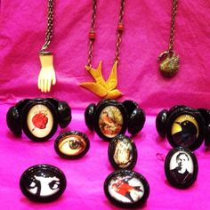 Hotcakes design jewelry at Love Shine in NYC!