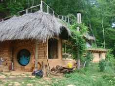 This hobbit house is for SALE. In Earthaven Ecovillage near Black Mountain, NC.