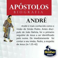 Andrew - About Bible - Bibel Journal, Jesus Freak, Bible Stories, Study Notes, Word Of God, Just Love, Christianity, Bible Verses, Prayers