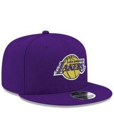 New Era Boys  Los Angeles Lakers Basic Link 9FIFTY Snapback Cap - Purple  Adjustable 781e1be78