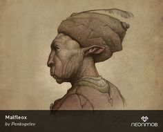 "Woot! I got a very rare print, ""Malfleox"", from Portraits of the Future by Penko Gelev on @NeonMob - Check it out!"