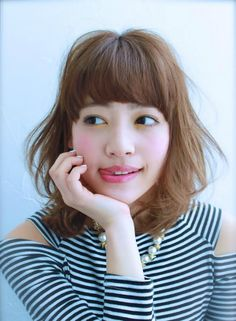 ふんわりミディ 【Noz 渋谷公園通り店】 http://beautynavi.woman.excite.co.jp/salon/26983?pint ≪ #mediumhair #mediumstyle #mediumhairstyle #hairstyle・ミディアム・ヘアスタイル・髪形・髪型≫