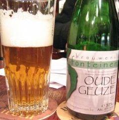 Cerveja 3 Fonteinen Oude Geuze, estilo Lambic - Gueuze, produzida por 3 Fonteinen, Bélgica. 6% ABV de álcool.