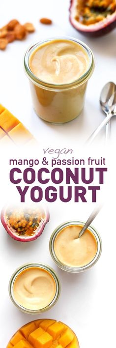 Mango & Passion Fruit Coconut Yogurt