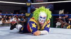 This image is of  my good friend and mentor Matt Borne aka (Doink The Clown). This picture was taken from www.wwe.com.   This image inspires me to always be my self and let go of the clown face  This picture represents purpose to me. The purpose is to always stay humble. No matter how successful I may become or how hectic things may get, to me this picture reminds me to always remember who I am.