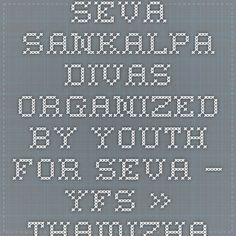 Seva Sankalpa Divas organized by Youth For Seva – YFS » Thamizharasan Karunakaran