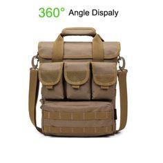 Tactical Outdoor Casual Crossbody Bag Sports Multi Pocket Oxford Sling Bag For Men