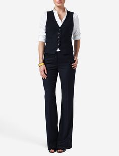 womens business fashion vest - Google Search