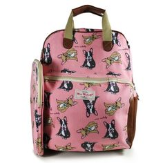 NEW DOG PINK RUCKSACK WITH IPAD CASE COLLEGE SCHOOL BAGS – GIFTS