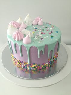 A unicorn cake for your a nice day♡♡♡♢♢♢☆☆☆