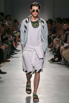 MSGM Spring 2015 Menswear - Collection - Gallery - Look 1 - Style.com