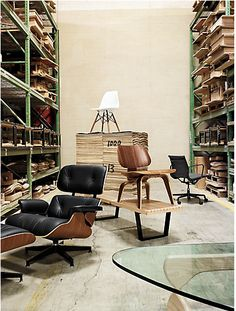 DWR on location at the Herman Miller factory in Zeeland, Michigan.
